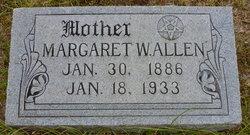 Margaret Pearl Maggie <i>Williams</i> Allen