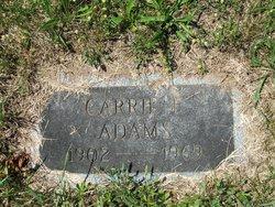 Carrie F Adams