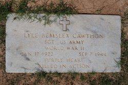 Sgt Lyle Bernsley Cawthon