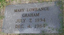 Mary Elizabeth <i>Lowrance</i> Graham