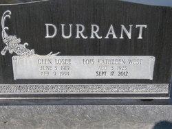 Lois Kathleen <i>West</i> Durrant