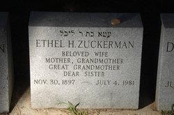 Ethel Zuckerman