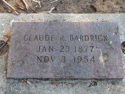 Claude R Bardick