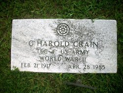 G. Harold Crain