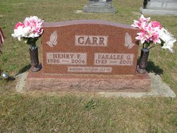 Faralee Garnelle <i>Pearson</i> Carr