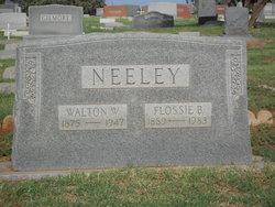 Walton Wesley Neeley