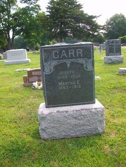 Martha E. <i>Land</i> Carr