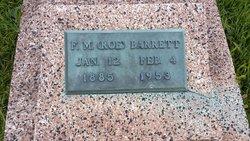 Francis Monroe Roe Barrett