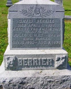 Julia Ann <i>Wilt</i> Berrier