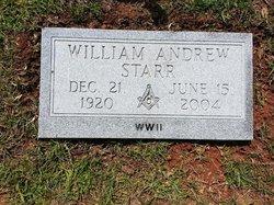 William Andrew Bill Starr