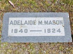 Adelaide <i>Mathews</i> Mason