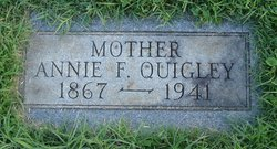 Annie F <i>Hair</i> Quigley