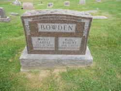 Isabella Isabel <i>Moorehead</i> Bowden