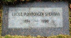 Lucile <i>Ironmonger</i> Sherman