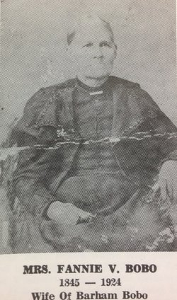 Frances Virginia Fannie <i>Ray</i> Bobo