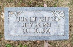 Julia M <i>Lee</i> Ashford