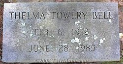 Thelma Urquhart <i>Towery</i> Bell