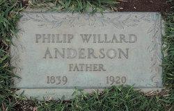 Philip Willard Anderson