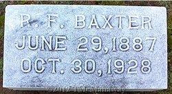 Robert F Baxter