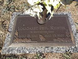 Margaret <i>Peel</i> Keister