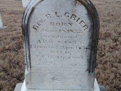 Rev Robert LeRoy Grier