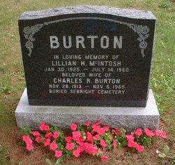 Lillian Hazel <i>MacIntosh</i> Burton