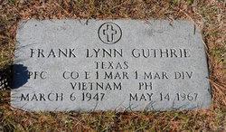 PFC Frank Lynn Guthrie