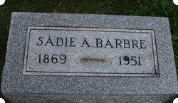 Sadie A. <i>Vaughn</i> Barbre