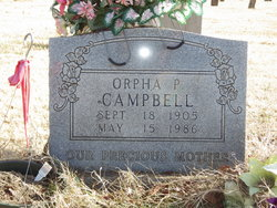 Orpha Parlee <i>Patton</i> Campbell