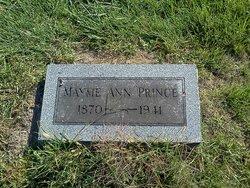 Mayme Ann <i>Moore</i> Prince