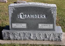 Maude <i>Wickman</i> Chambers