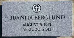 Juanita <i>Burks</i> Berglund