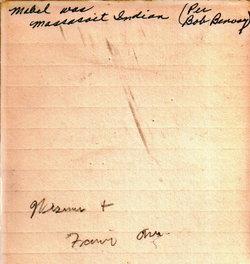 Mabel Carpenter <i>Howland</i> Benway