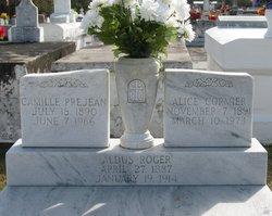 Alice <i>Cormier</i> Roger Prejean