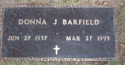 Donna J Barfield