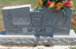 Margaret Ann <i>Huckleberry</i> McCay