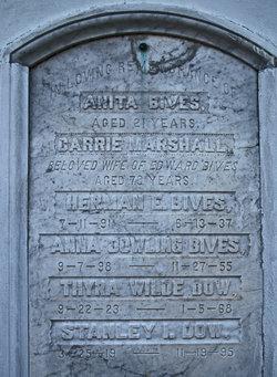 Caroline Carrie <i>Marshall</i> Bives