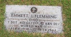 Sgt Emmett J Flemming