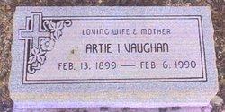 Artie I <i>Slaughter</i> Vaughan