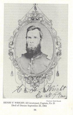 Capt Henry Fernandes Wright