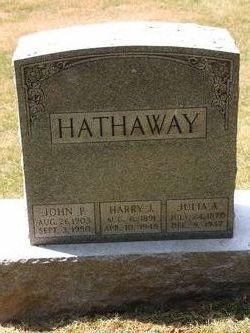 Harry John Hathaway