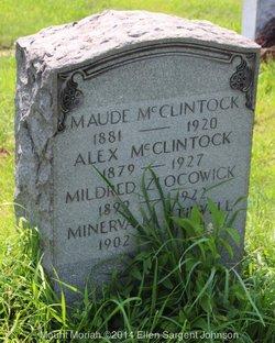 Mildred <i>McClintock</i> Zlocowick