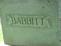 Mary Ann Marion <i>Goss</i> Babbitt