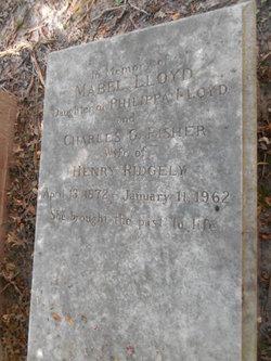 Mabel Lloyd <i>Fisher</i> Ridgely