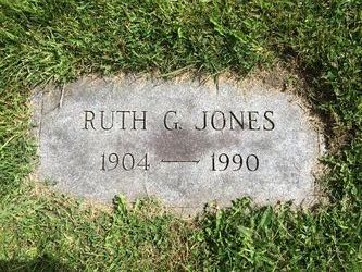 Ruth Garrett <i>McAllister</i> Jones