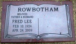 Fred Lee Rowbotham