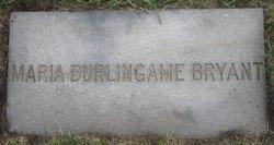 Maria <i>Burlingame</i> Bryant