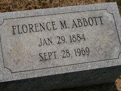 Florence M. <i>Zimmerm</i> Abbott