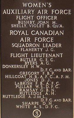 Flight Lieutenant Alfred John Ruttledge