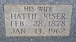 Hattie Eudora <i>Kiser</i> King